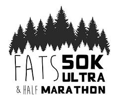 FATS 50K logo on RaceRaves