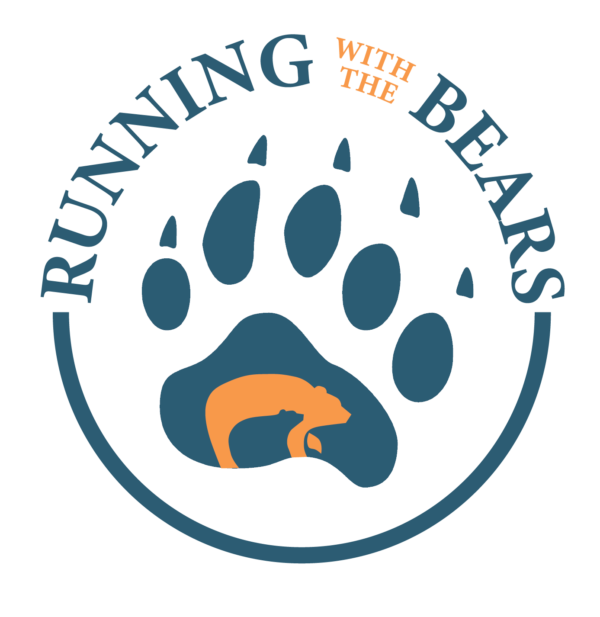 Running with the Bears logo on RaceRaves