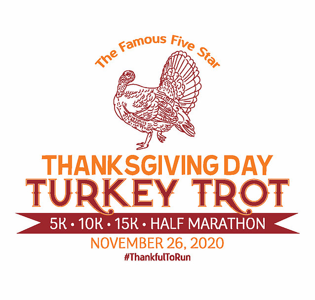 Five Star Thanksgiving Turkey Trot logo on RaceRaves