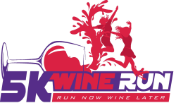 Wine Run 5K Potosi WI logo on RaceRaves