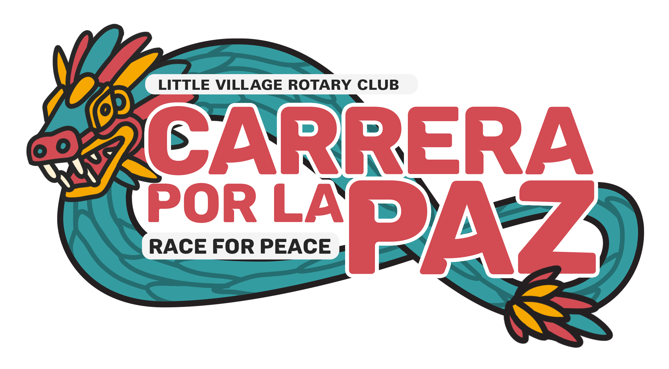 Chicago Little Village Race for Peace logo on RaceRaves