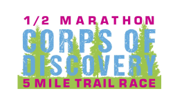 Corps of Discovery Trail Races logo on RaceRaves
