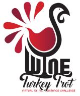 Wine Run 5K Keel Farms Turkey Trot Race logo on RaceRaves