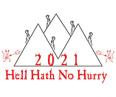 Hell Hath No Hurry logo on RaceRaves