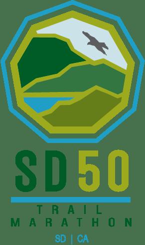 San Diego 50 & Trail Marathon logo on RaceRaves