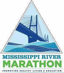 Mississippi River Marathon and Half Marathon logo on RaceRaves