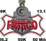 Frisco Railroad Run logo on RaceRaves