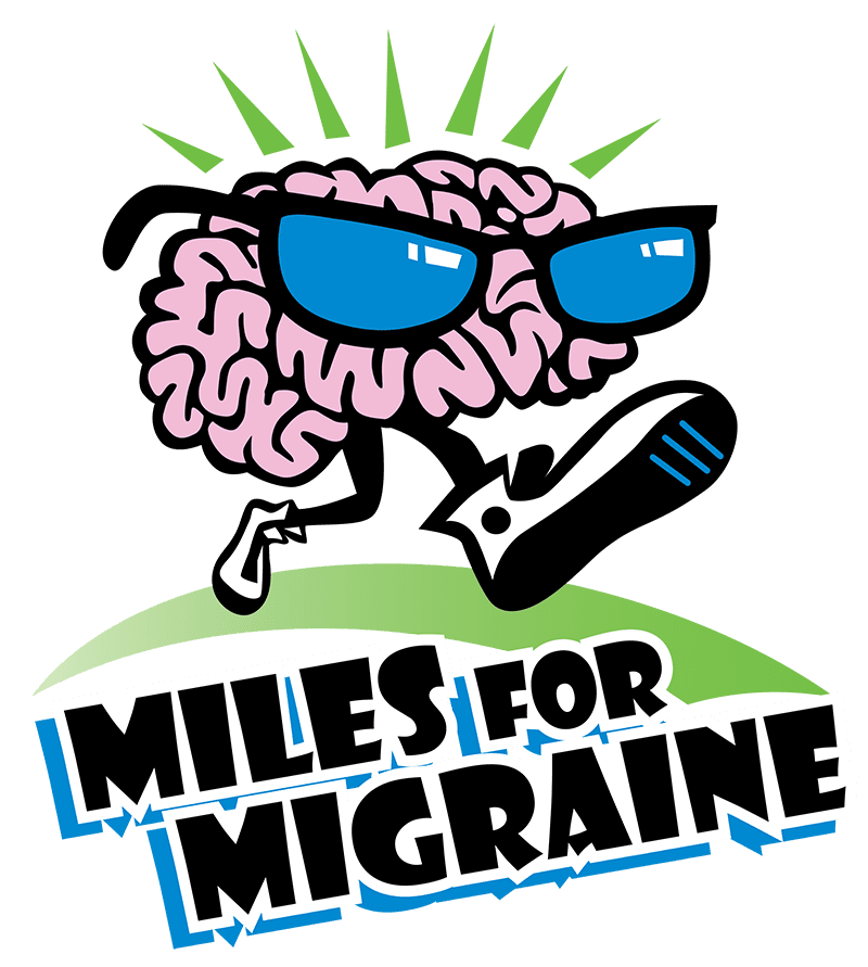 Miles for Migraine San Francisco logo on RaceRaves