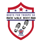 Boots for Troops 5K, Boot Run & GORUCK logo on RaceRaves